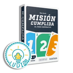 Mision Cumplida sello ludia